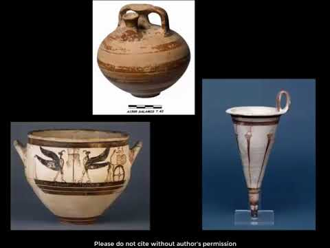 "Angelos Papadopoulos, ""A contribution to the study of Mycenaean pottery from Cyprus: bringing together the tomb groups from the 1895-1897 British Museum excavations"""