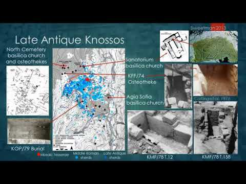 "Anna Moles, ""The impact of urbanism on human health and diet at Knossos from the Hellenistic to Late Antique periods"""