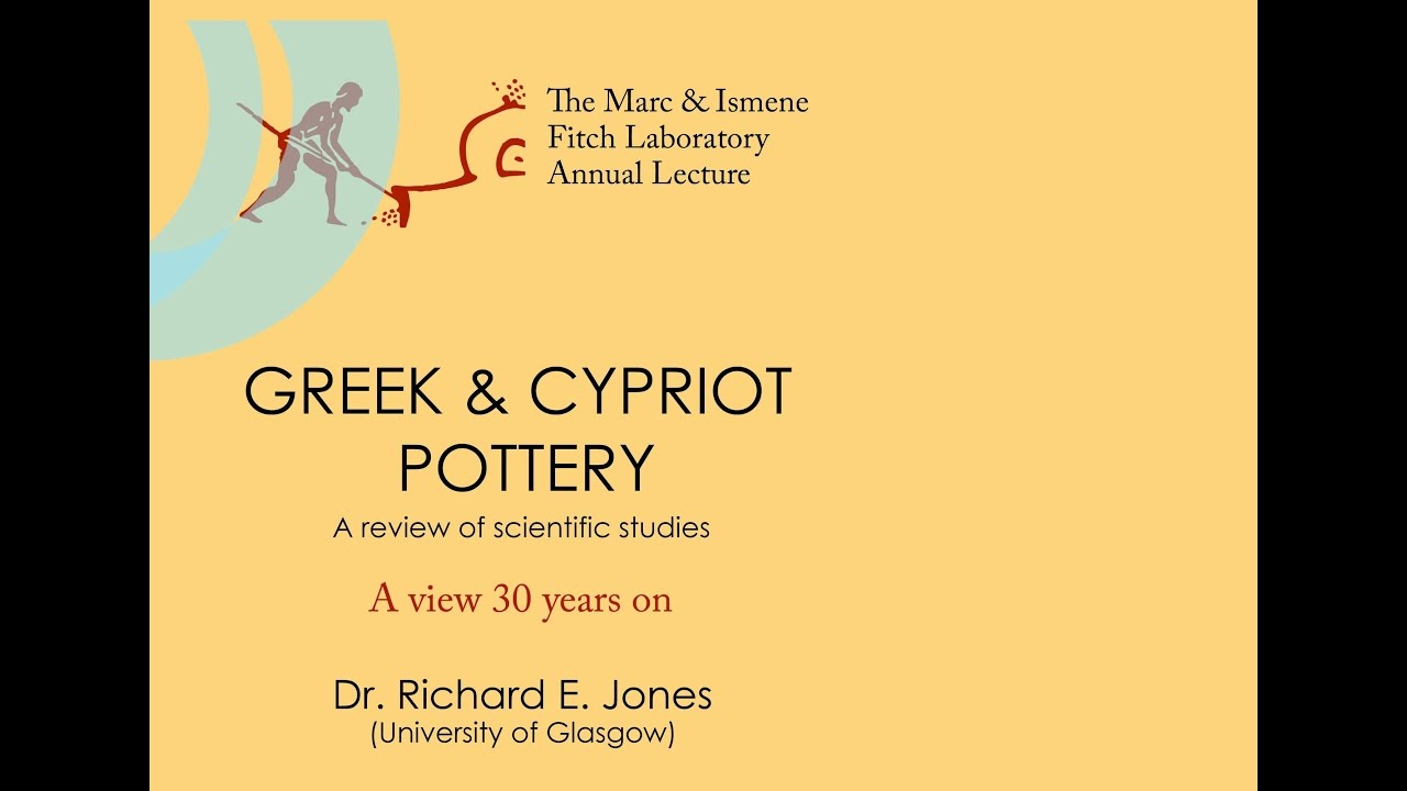 "Richard Jones, ""Greek and Cypriot Pottery: a review of scientific studies - a view 30 years on"""