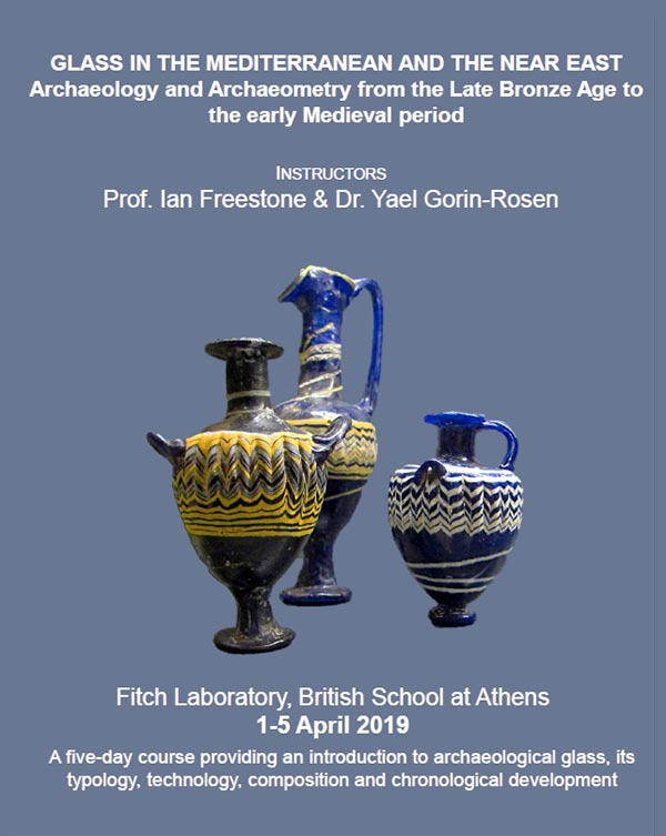 New course at the Fitch Lab: Glass in the Mediterranean and the Near East