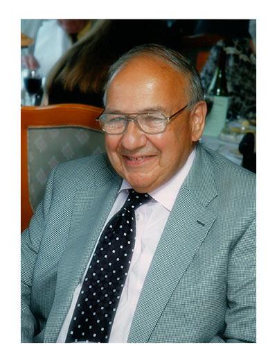 Justin Davies (1931-2018; BSA Treasurer 1990-1997)