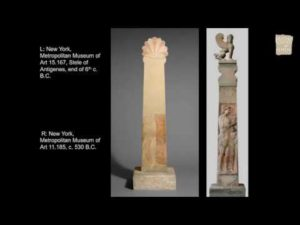 "Judith Barringer, ""The message is in the medium: White-ground lekythoi and stone grave markers in Classical Athens."""