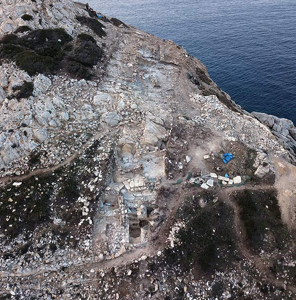 Evidence for advanced architectural planning at the early prehistoric site of Dhaskalio in the Aegean