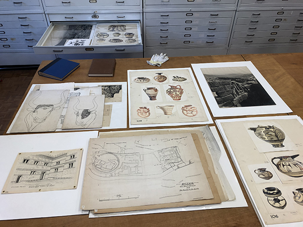 The Power of Archives: Through the Lens of the Mycenae Excavation Records
