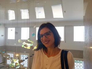 Our new Librarian – Evi Charitoudi