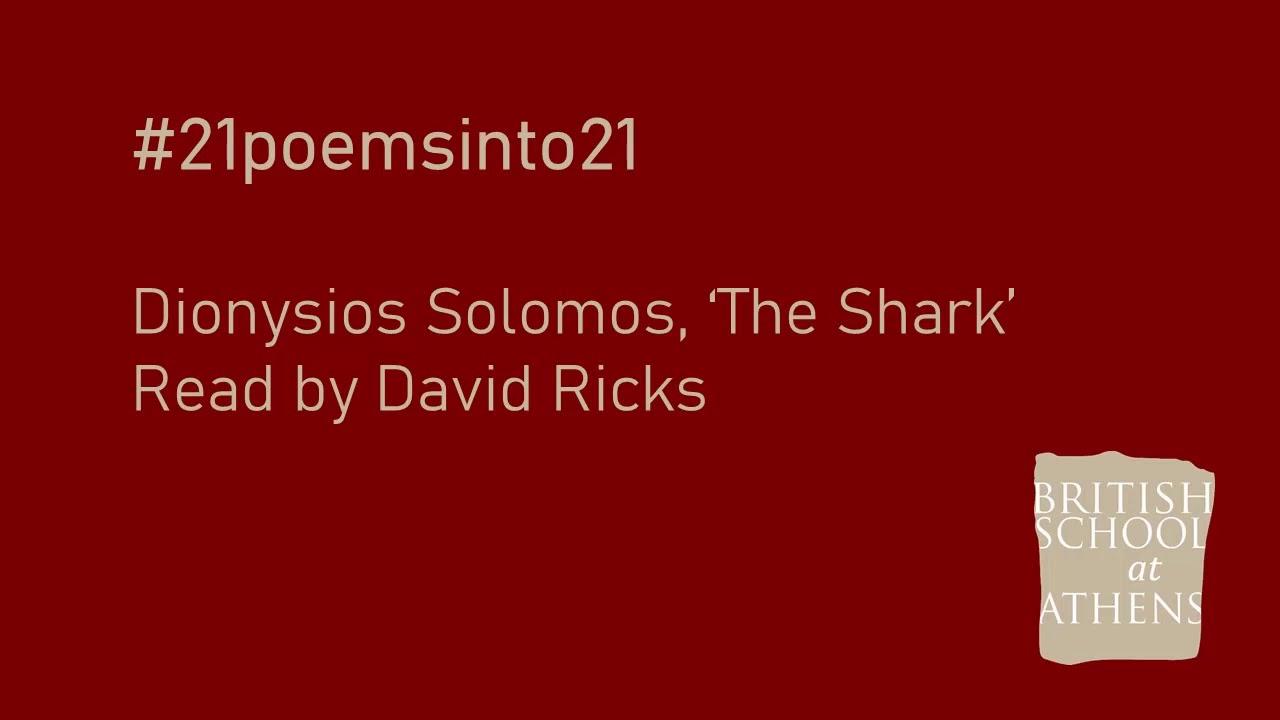 Dionysios Solomos 'The Shark' read by David Ricks