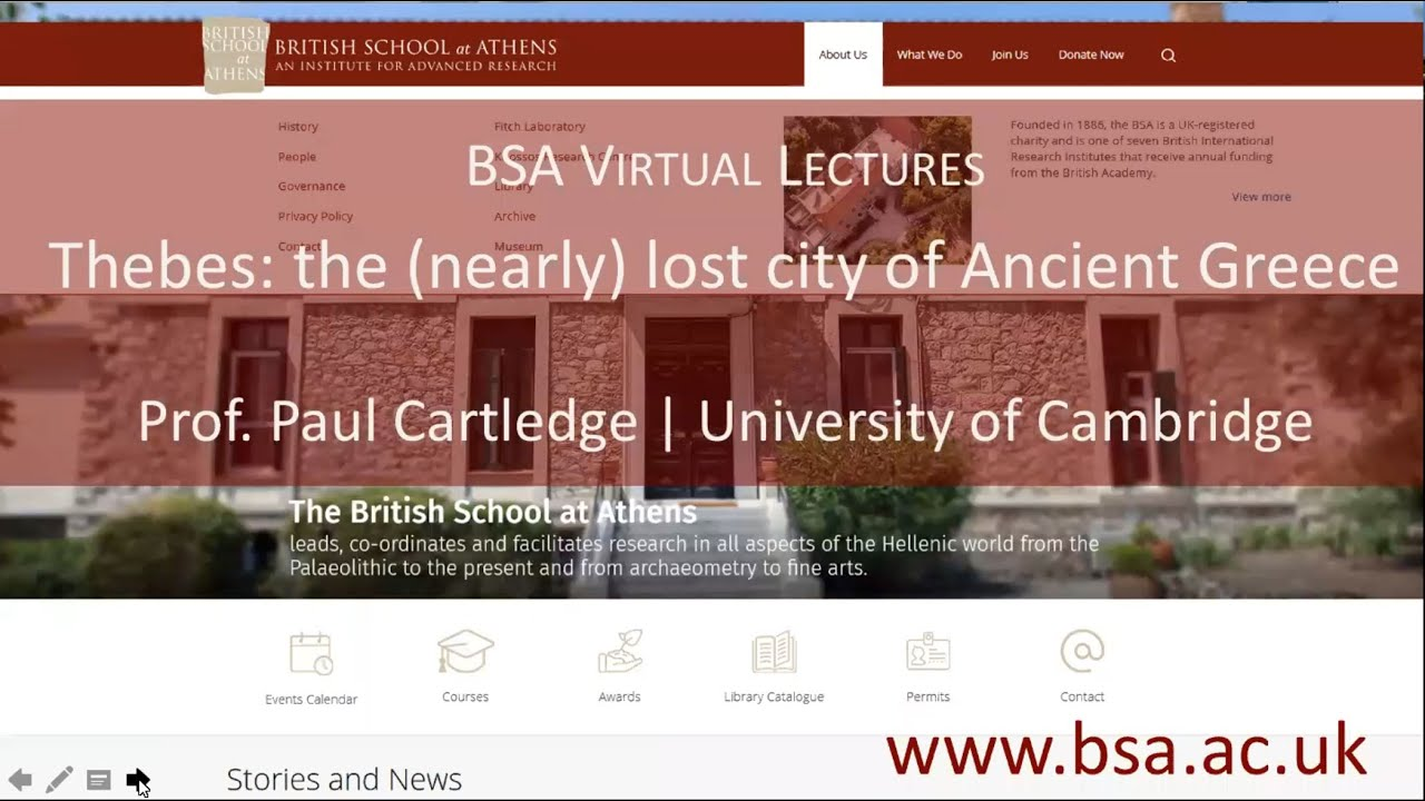 "Paul Cartledge, ""Thebes: the (nearly) lost city of Ancient Greece"""