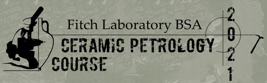 Ceramic Petrology Course 2021 logo