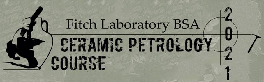 Ceramic Petrology Course 2021 logo