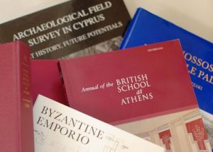 Annual Reports of the British School at Athens are now digital