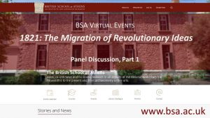 "Panel Discussion: ""1821: The Migration of Revolutionary Ideas"" (Part 1)"