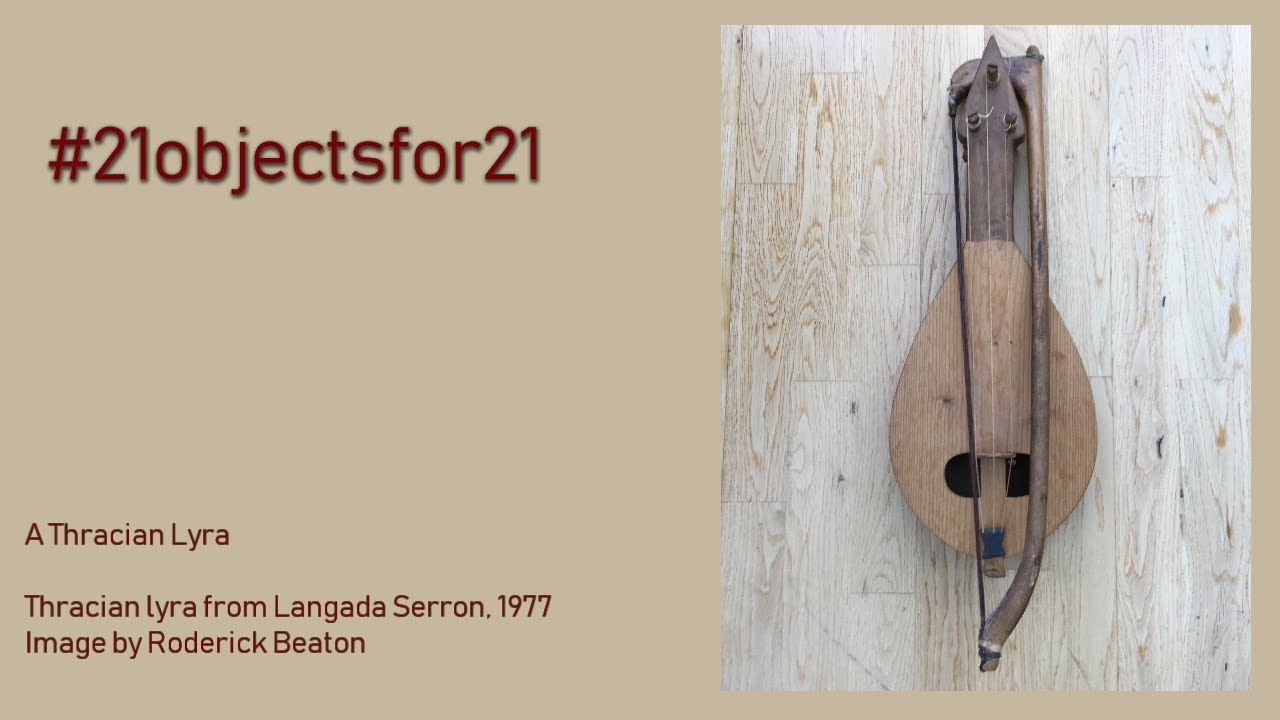 A Thracian lyra | presented by Roderick Beaton