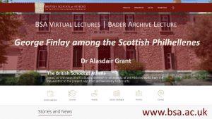 "Alasdair Grant, ""George Finlay among the Scottish Philhellenes"""
