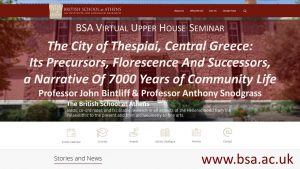 """John Bintliff and Anthony Snodgrass, """"The City of Thespiai, Central Greece: Its Precursors, Florescence And Successors, a Narrative Of 7000 Years of Community Life"""""""