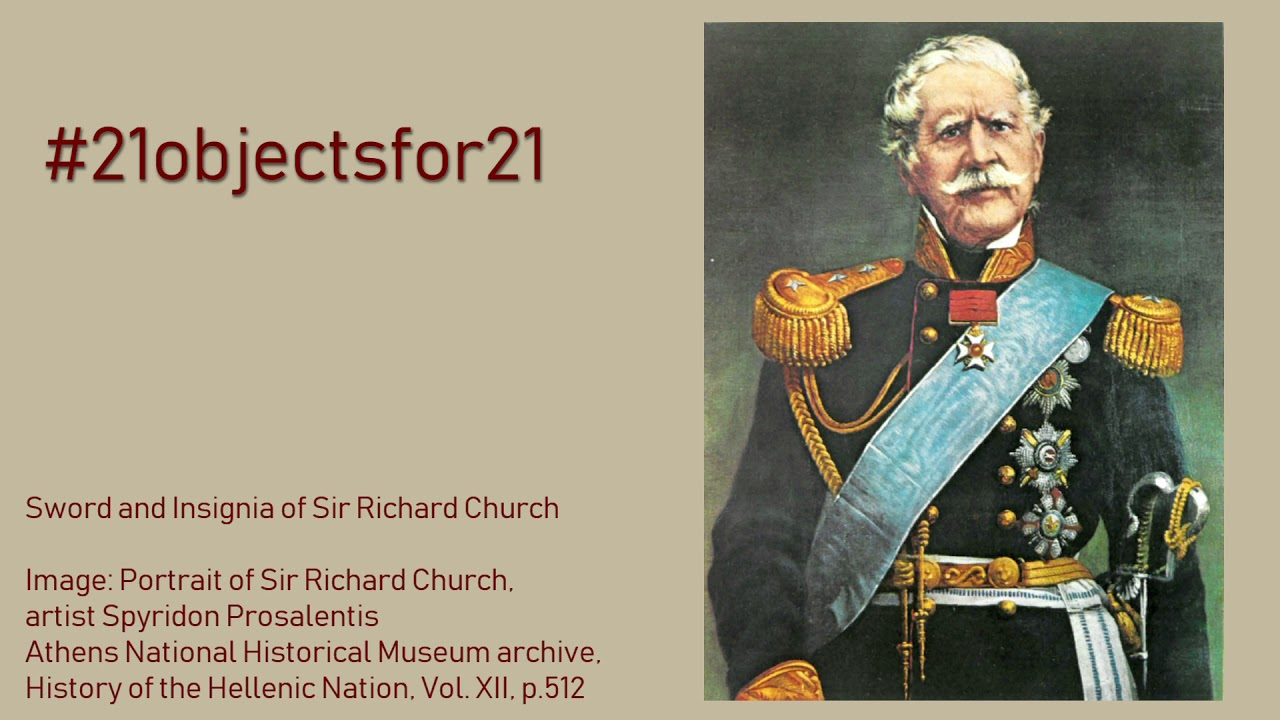 Sword and Insignia of Sir Richard Church | presented by HE Kate Smith
